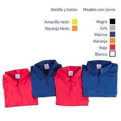 Playera tipo Polo Dry Wear Dama
