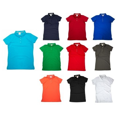 Playera Polo Premium Dama