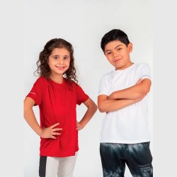 Playera Deportiva Cuello Redondo Kids