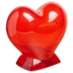 Alcancía de Corazón